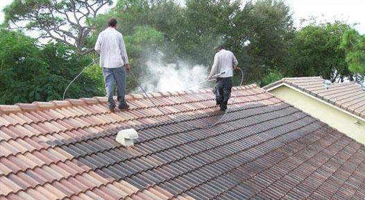 Roof Repair cleaning