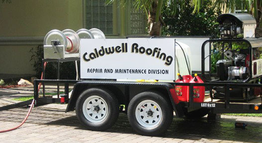 caldwell roofing washing